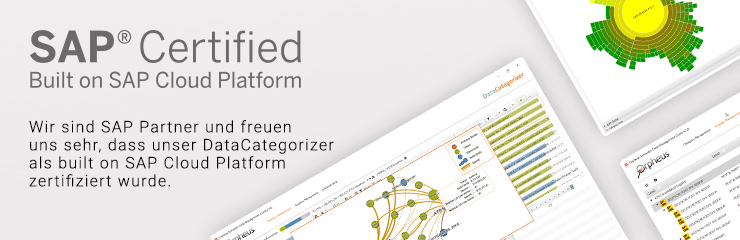 DataCategorizer ist zertifiziert als powered by SAP HANA