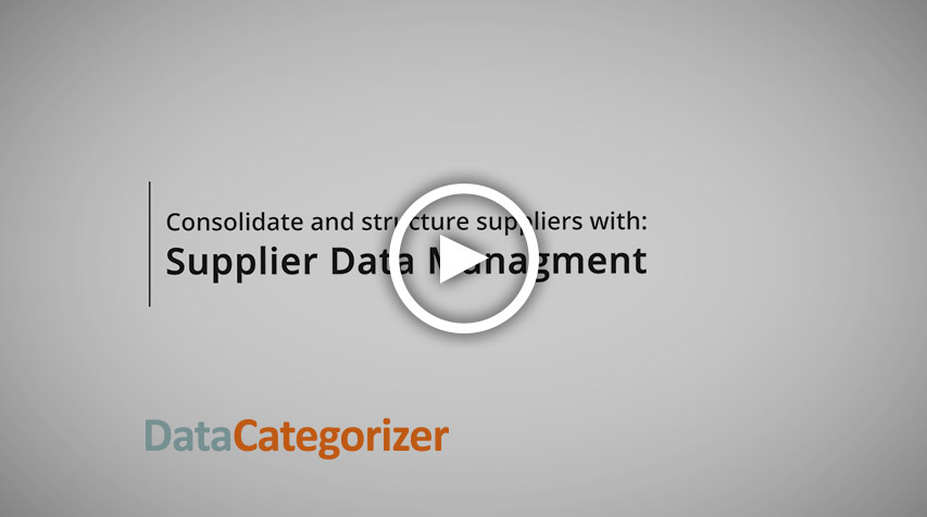 Supplier Data Management Overview